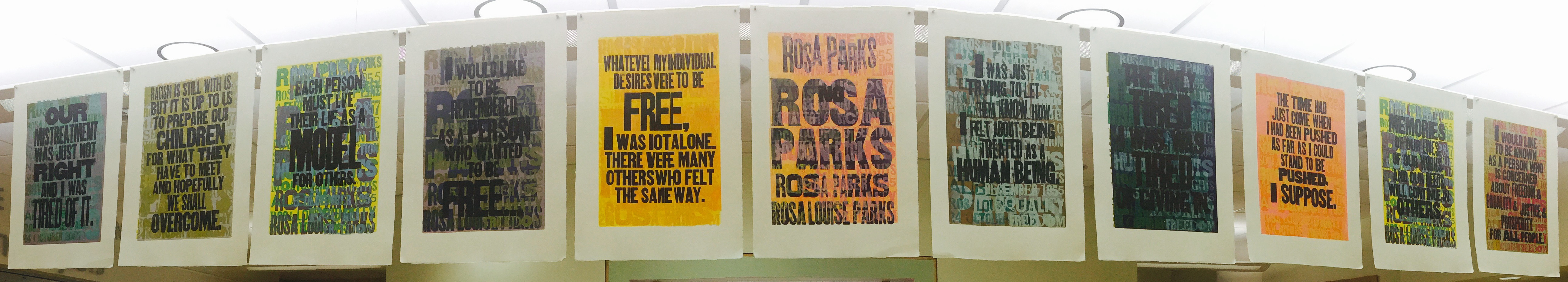 Amos Paul Kennedy, Rosa Parks Broadside Series
